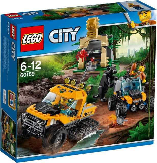 Jungle Halftrack Mission (60159)