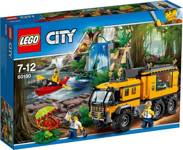 Jungle Mobile Lab (60160)