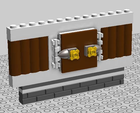 Imposte LEGO fatte a mano