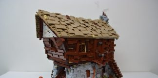 LEGO Ideas Medieval Watermill