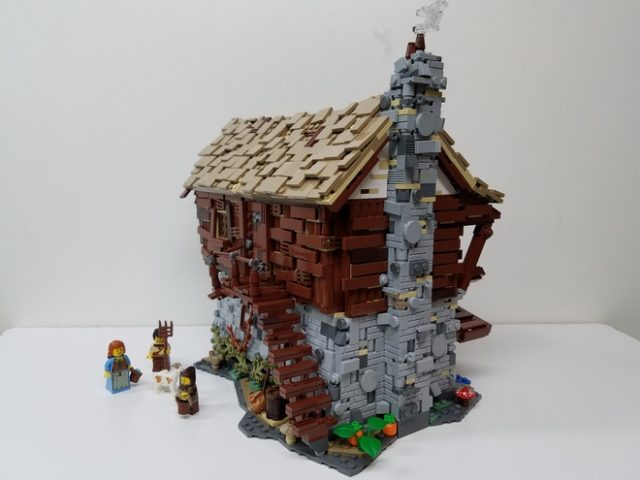 LEGO Ideas: Medieval Watermill