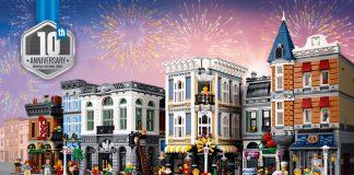 10 Anniversario Edifici Modulari LEGO