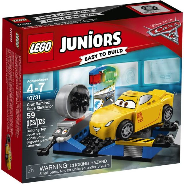 LEGO® Juniors Cruz Ramirez Race Simulator (10731)