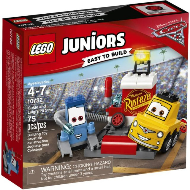 LEGO® Juniors Guido and Luigi's Pit Stop (10732)