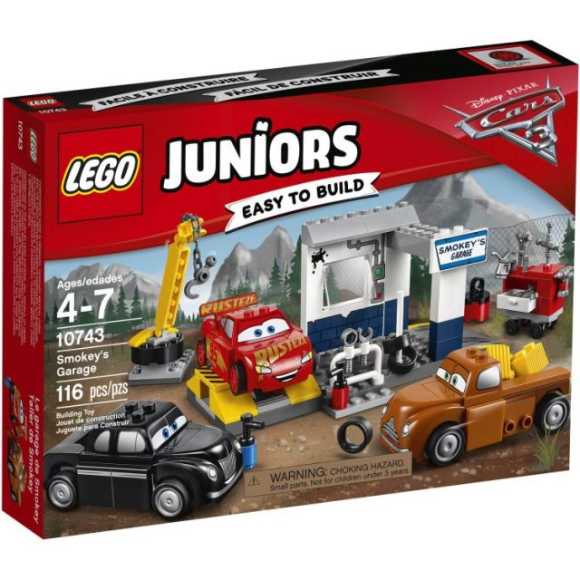 LEGO® Juniors Smokey's Garage (10743)