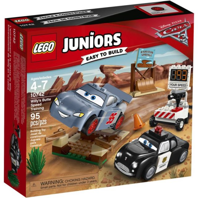 LEGO® Juniors Willy's Butte Speed Training (10742)