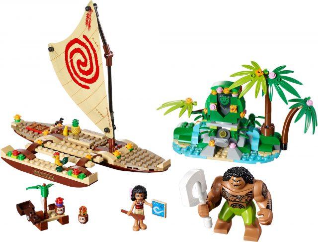 LEGO 41150 - Il Viaggio Sull'oceano Di Vaiana