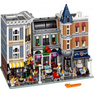 LEGO Creator 10255 - Piazza Dell'assemblea - Interno