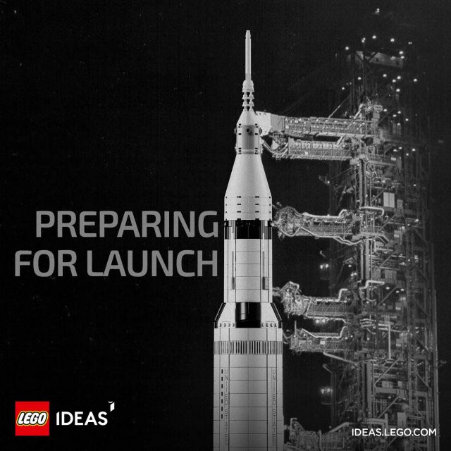 LEGO Ideas Apollo 11 Saturn