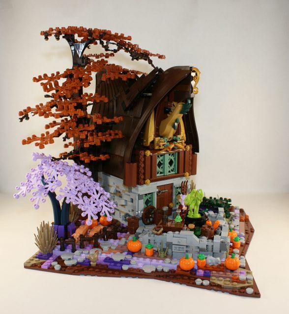 LEGO Ideas Cottage della Strega-Elfo 2
