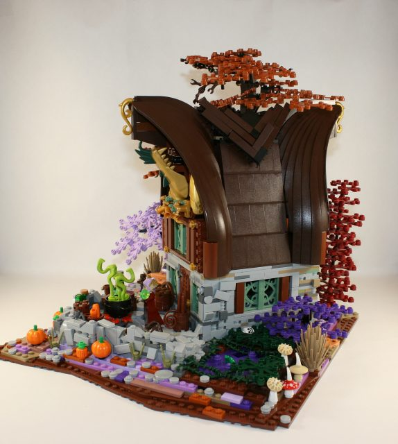 LEGO Ideas Cottage della Strega-Elfo 3