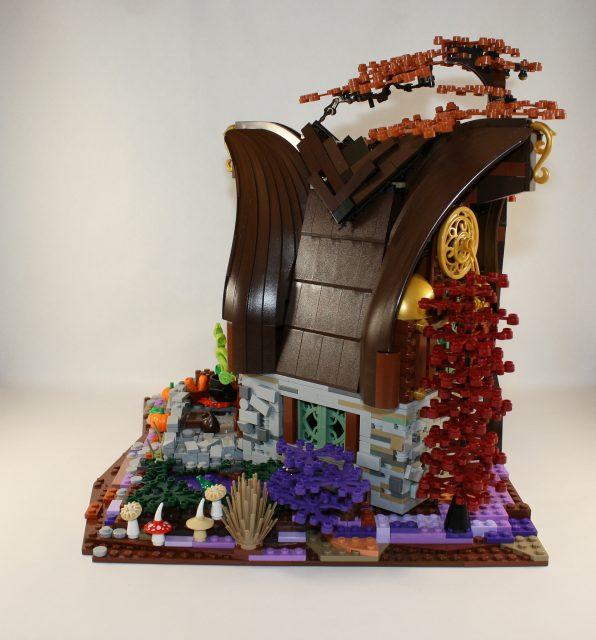 LEGO Ideas Cottage della Strega-Elfo 4