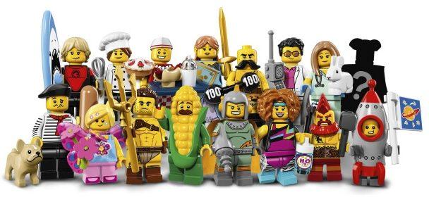 Minifigure LEGO Serie 17