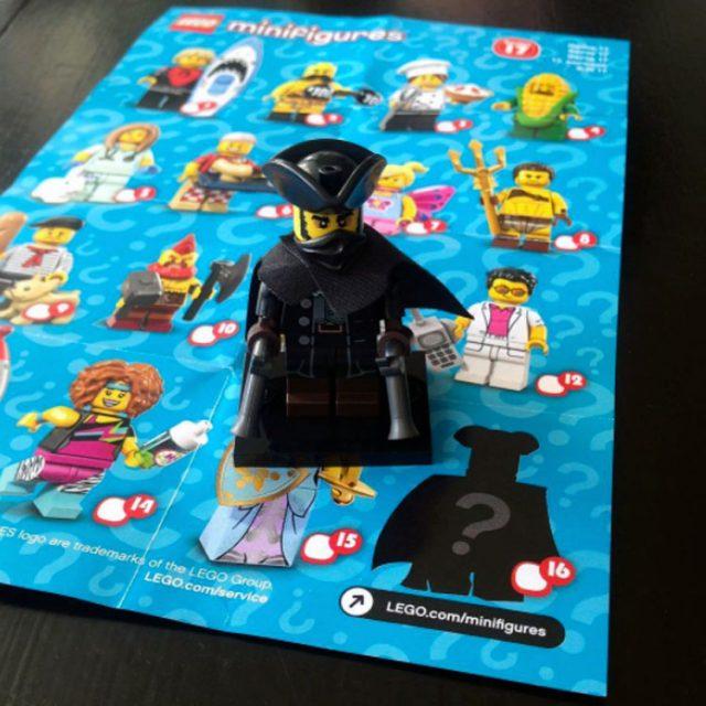 Personaggio Segreto delle Minifigure LEGO Serie 17