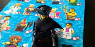 Minifigure LEGO Serie 17 Highwayman