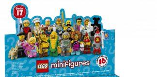 Minifigure LEGO Serie 17 box
