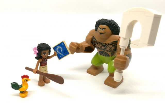 Personaggi LEGO Oceania