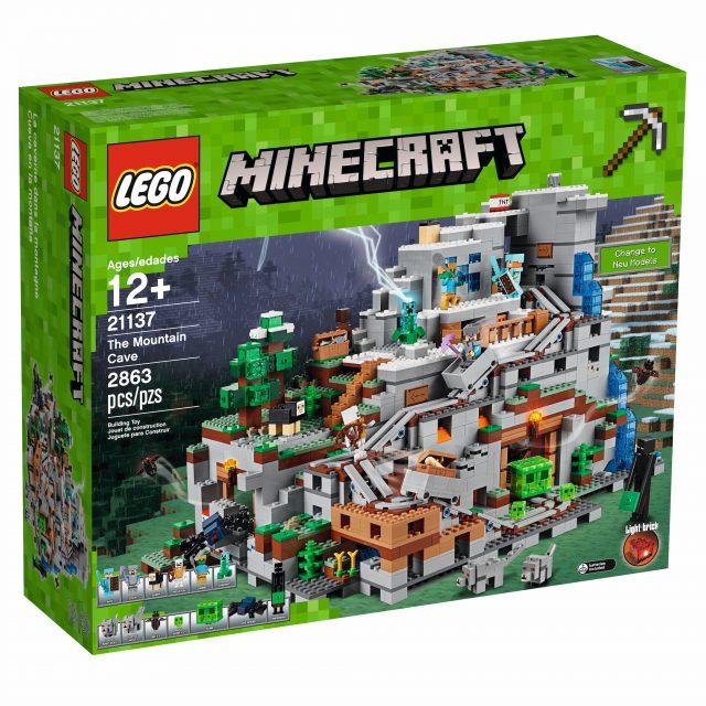 LEGO Minecraft 21137 - La Caverna di Montagna