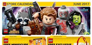 Calendario LEGO Store USA Giugno 2017