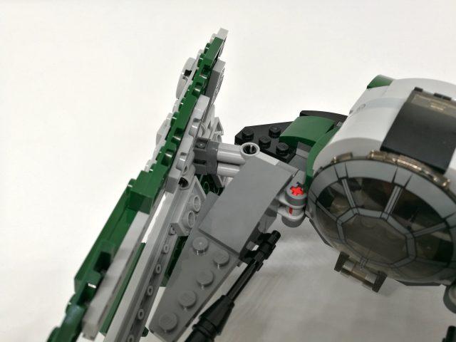 LEGO 75168 Sacchetto 3 Ali Dettaglio Aggancio