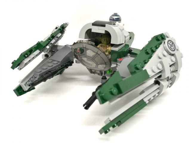 LEGO 75168 Starfighter Starfighter con Yoda e R2-D2