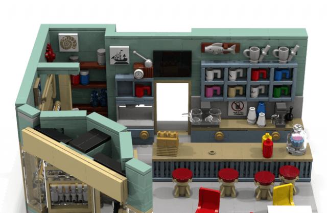 LEGO Ideas The Gilmore Girls – Lukes Diner
