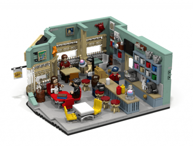 LEGO Ideas The Gilmore Girls – Lukes Diner