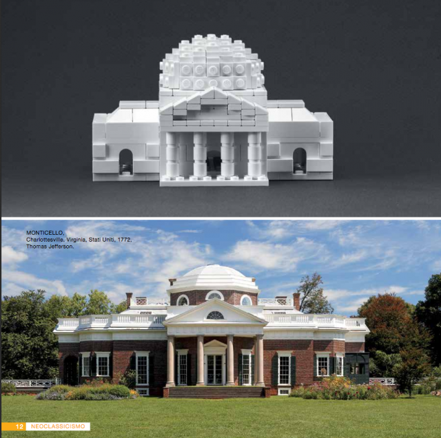 Architetto con i LEGO