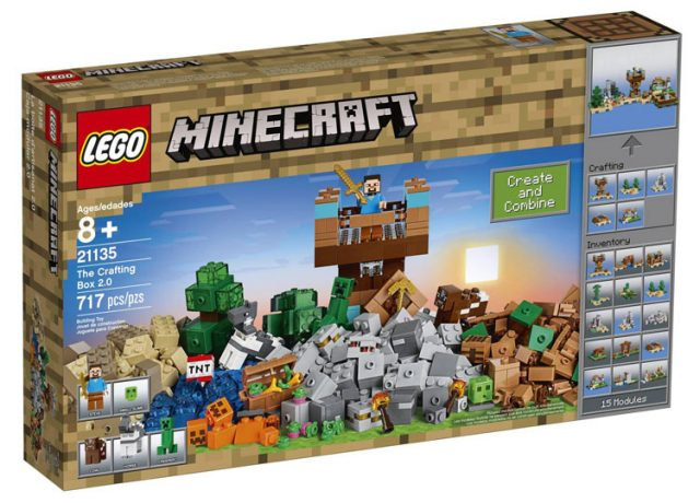 LEGO Minecraft The Crafting Box 2.0 (21135)