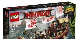 LEGO Ninjago Movie Destiny's Bounty (70618)