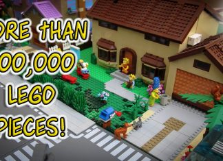 LEGO Simpsons Springfield City MOC
