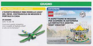 LEGO Store Maggio Giugno 2017