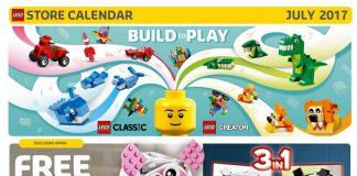 calendario LEGO Store USA Giugno 2017 banner