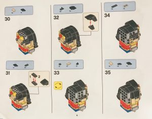 LEGO BrickHeadz Wonder Woman 6
