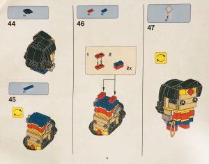 LEGO BrickHeadz Wonder Woman 9