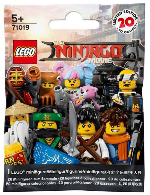 The LEGO Ninjago Movie Collectible Minifigures (71019) 2