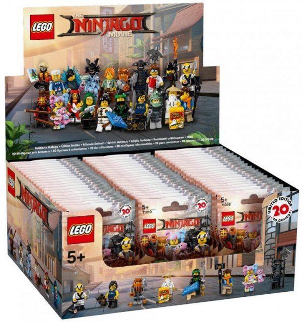 The LEGO Ninjago Movie Collectible Minifigures (71019)