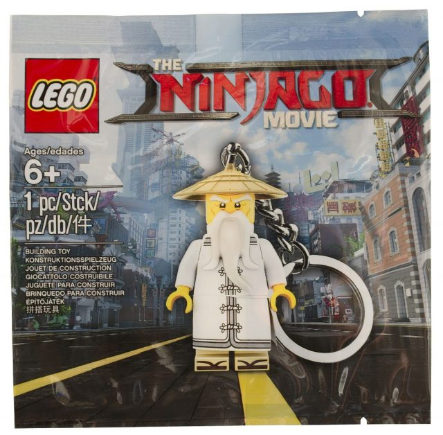 The LEGO Ninjago Movie Master Wu Keychain (5004915)