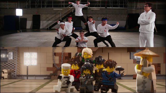 Jackie Chan The LEGO Ninjago Movie