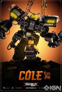 LEGO Ninjago Movie Cole