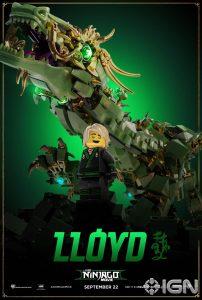 LEGO Ninjago Movie Lloyd