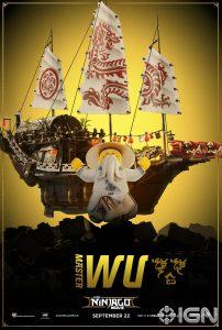LEGO Ninjago Movie Master-Wu