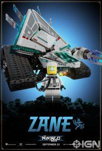 LEGO Ninjago Movie Zane