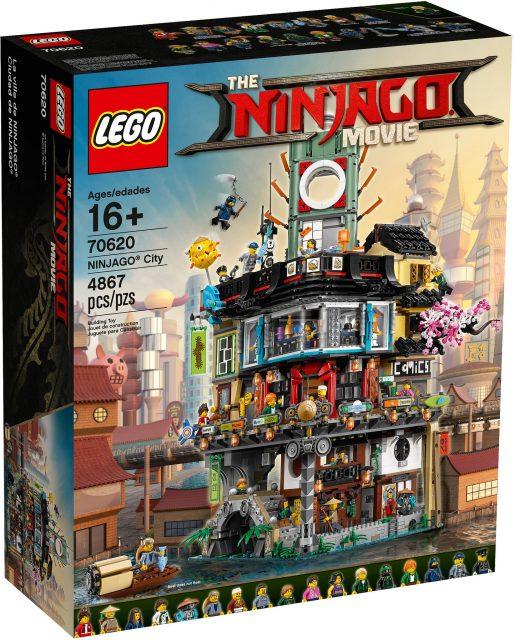 The LEGO Ninjago Movie NINJAGO City (70620)
