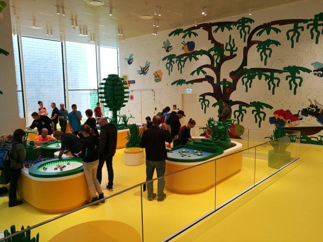 LEGO House zona gialla