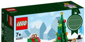 LEGO Seasonal Christmas Town Square (40263)