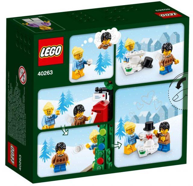 LEGO Seasonal Christmas Town Square (40263)