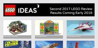 Seconda Fase di Revisione LEGO Ideas del 2017