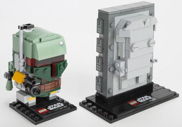 Boba Fett & Han Solo in Carbonite (41498)