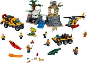 Costruzioni LEGO City 60161 - Sito di Esplorazione nella Giungla